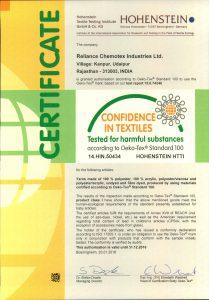 Oeko-Tex Certificate-page-001